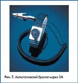 Антистатический браслет марки 3М