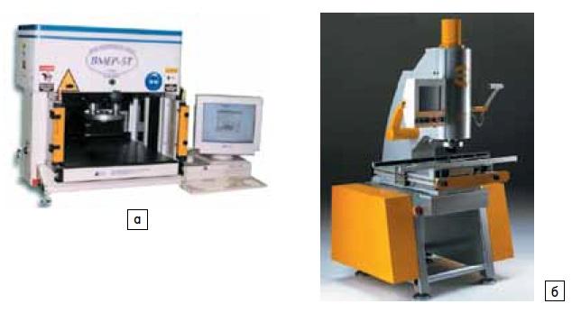 Прессы фирм Tyco Electronics и Harting: а) BMEP-5T; б) CPM Prestige