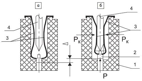Схема контактной пары с нулевым усилием сочленения