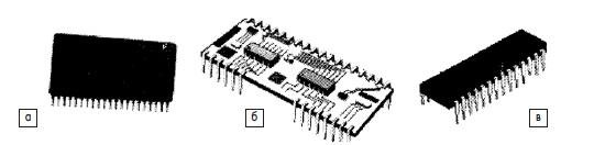 Типовые многоштырьковые корпуса ИС