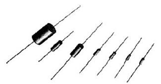 Типовые компоненты с коаксиальными выводами
