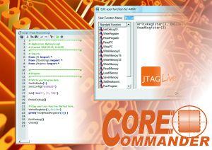 JTAG Live управляет ядрами микроконтроллеров для тестирования и отладки ПП