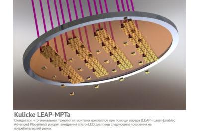 Новая технология монтажа кристаллов при помощи лазера от Kulicke & Soffa