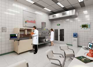 Лаборатория влагозащиты ОСТЕК