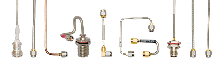 Примеры готовых кабельных сборок на основе жесткого кабеля