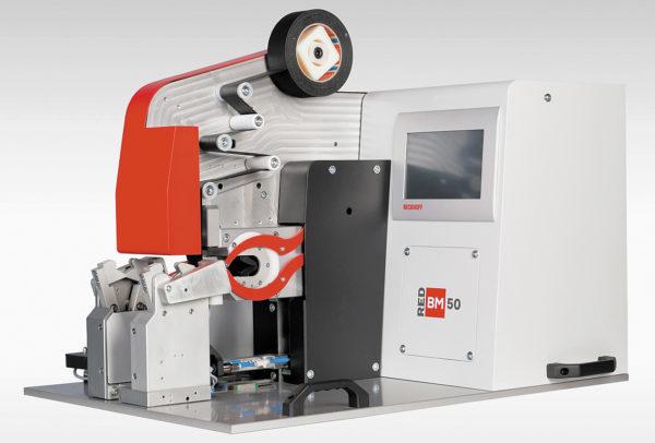 Автоматическая машина точечной обмотки лентой компании Tech Speed
