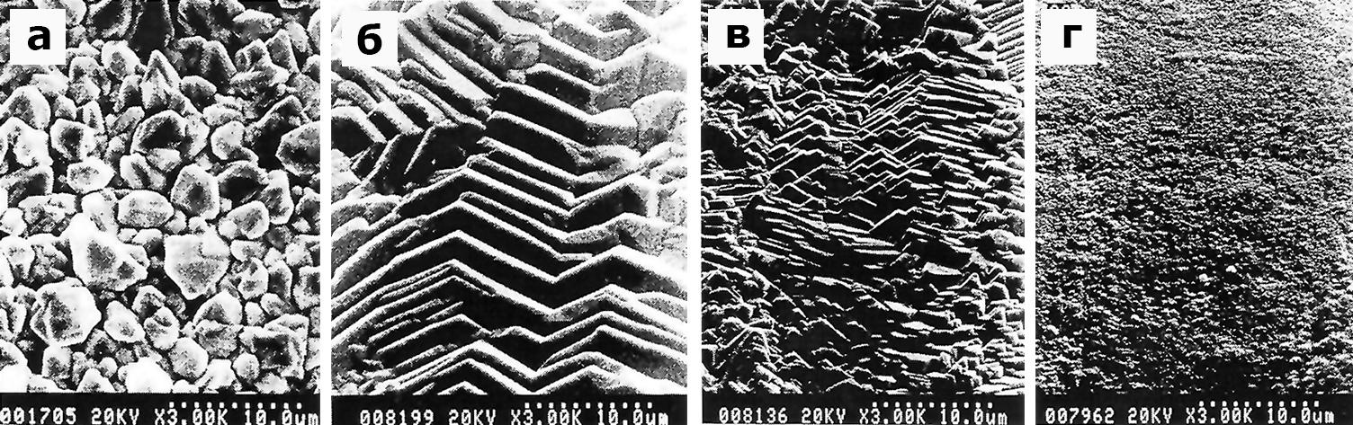 Морфология поверхности Ag-покрытий,