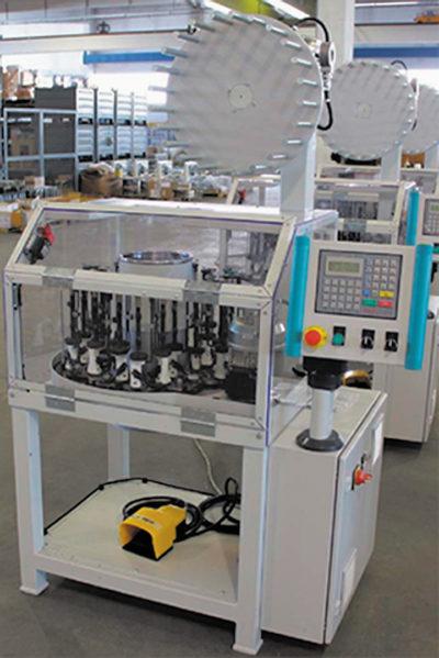 Вертикальная оплеточная машина OMA 24/1-104 HCM/EHarness