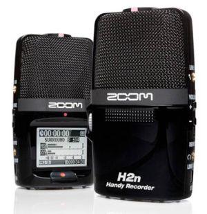 Zoom H2n Handy Recorder: «бытовой» диктофон с пятью микрофонами